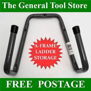 FOLDING-A-FRAME-LADDER-STORAGE-BRACKET-HEAVY-DUTY-BRACKET-WALL-MOUNTED