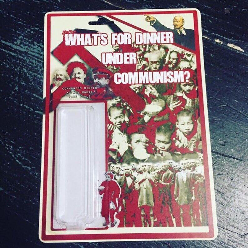 Communism Dinner, New Custom Figure Collectible Political POL