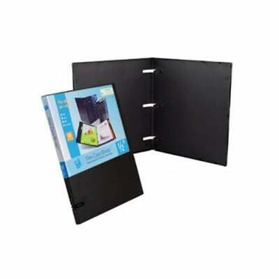 UniKeep 3 Ring Binder - Black - 1.0 Inch Spine - No Overlay - Box of 20