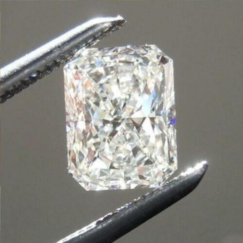 Radiant Cut 3.00ct Loose Moissanite White H-I Color Collection Fancy 10 X 8 MM