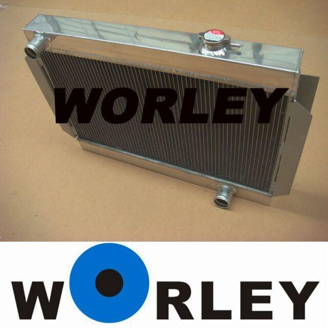 Aluminum radiator for Holden Kingswood HQ HJ HX HZ /Torana LH LX V8 Chevy engine