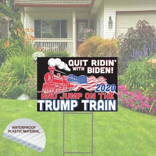 Trump Train - Quit Ridin