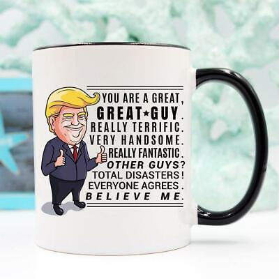 Trump Mug Gifts for Men Guy Best Friend Gift Male Best Friend Gift for (Gift For Best Friend Male)
