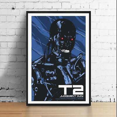 Terminator 2 T2 Endoskeleton 11 x 17 Art Print Horror Movie Poster Mondo
