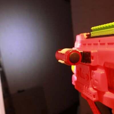 Rivals Flashlight Holder DIY Kit M3 Bolt Not Included for Nerf