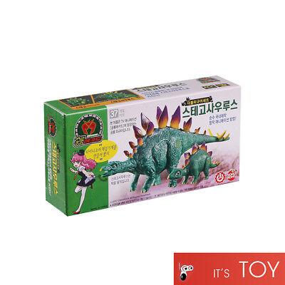Dino Mecard Double Figure STEGOSAURUS STEGO Dinosaur Tinysaur Set Sonokong