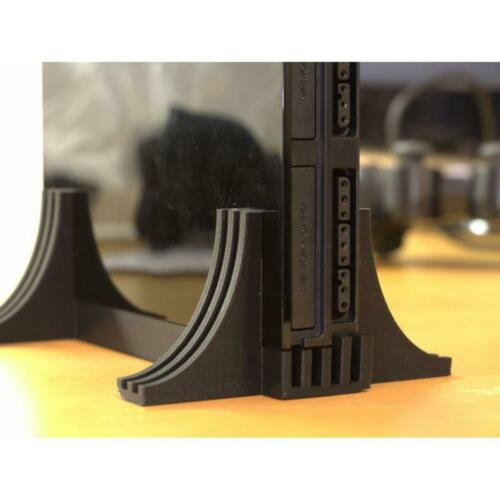 PlayStation 2 PS2 Slim 3D-Printed Vertical Stand - Black