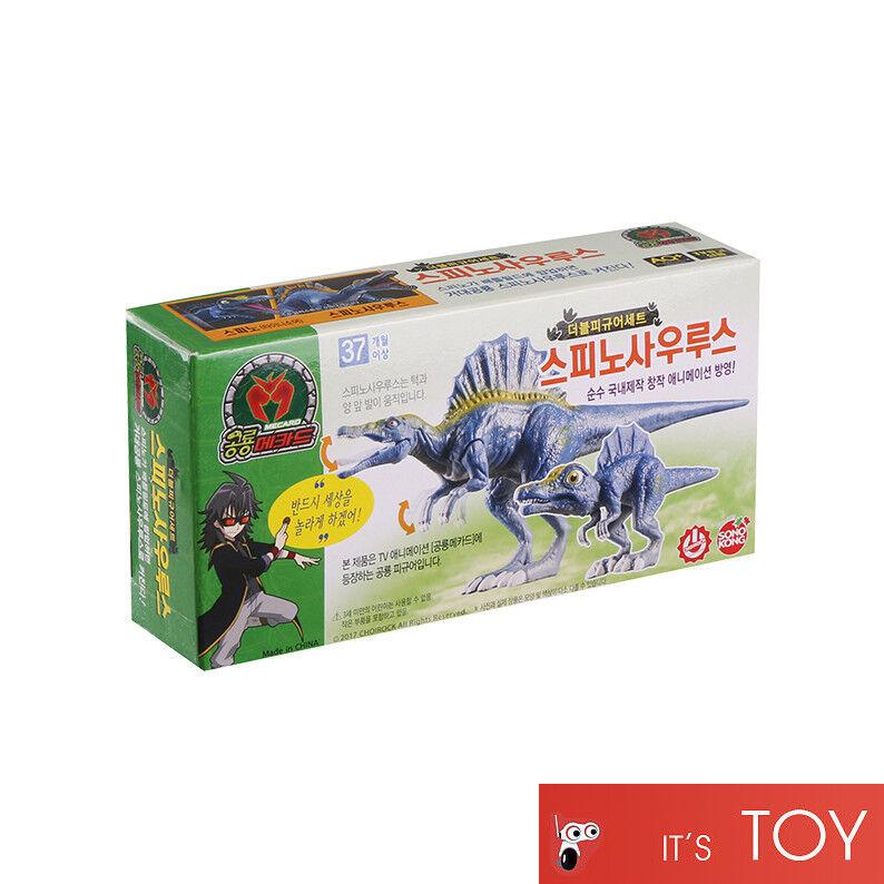 Dino Mecard Double Figure TRICERATOPS TRICERA Dinosaur Tinysaur Set Sonokong