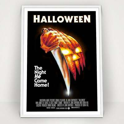 Vintage Halloween Movies (HALLOWEEN - 1978 - Classic Vintage Movie Poster)