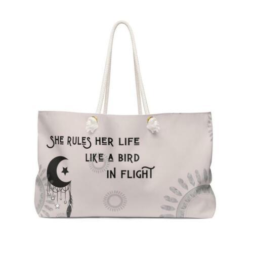 Stevie Nicks Inspired Rhiannon Over Sized  Weekender Bag