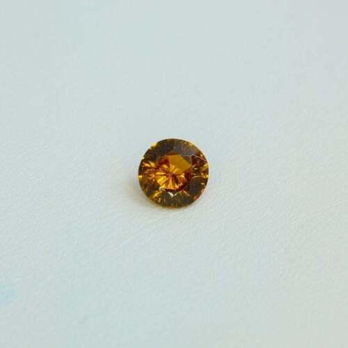 Garnet Andradite variety Topazolite gemstone 0.86ct 5.8x5.8x3.4mm Tanzania