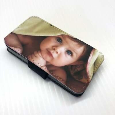 iPhone 7 & 7 Plus + Photo Flip Case Personalised any image logo Keyring Gift Set