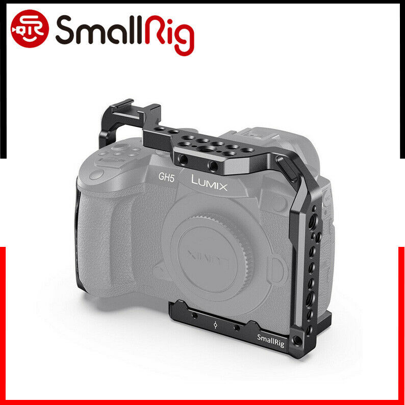 SmallRig Aluminum Cage for Panasonic Lumix GH5/ GH5 II /GH5S Camera-CCP2646