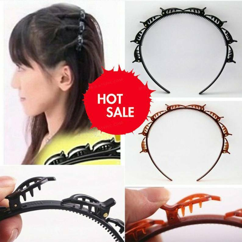 Double Bangs Hairstyle Hairpin Hair Accessories 2020
