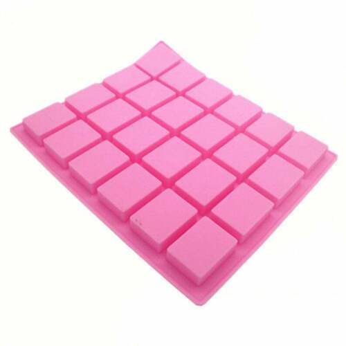 24-cavity Rectangle Soap Mold Cake Mold Silicone Mould For Candy Chocolate Mold