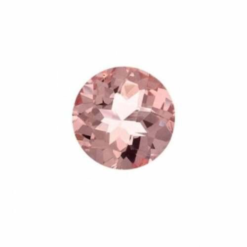 10MM Loose Gemstones Morganite Brilliant Peach Morganite For Ring