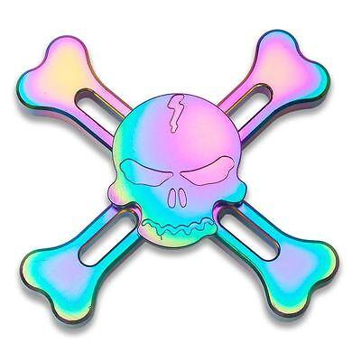 Pirate Bones Fidget Spinner - Metal Anxiety Relief Hand Finger Toy