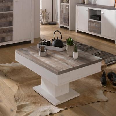 Couchtisch Wohnzimmertisch Designertisch Tisch Beistelltisch Tische 80x80 eicheg ()