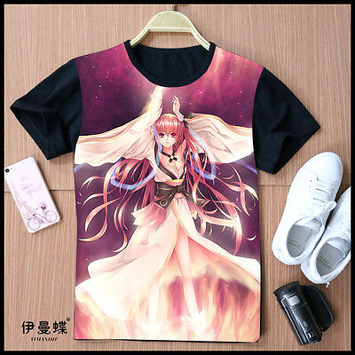 Cosplay DATE A LIVE Kotori Itsuka Anime T-Shirt Kostüme Polyester & Baumwolle