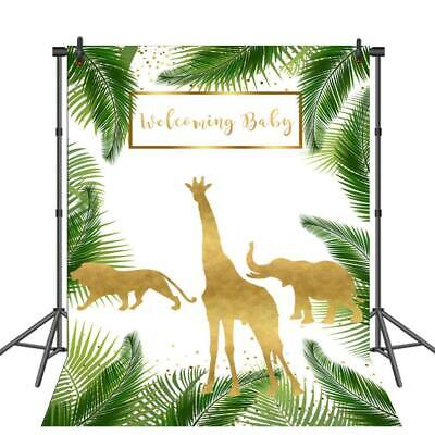 Jungle Theme Baby Shower Photography Backdrops Safari Backdrop Wild Photo Booth (Wild Safari Baby Shower Theme)