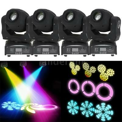 4Pcs 100W Led 8 Gobos Dmx512 Moving Head Stage Effect Light Rgbw 9 11Channel B1n