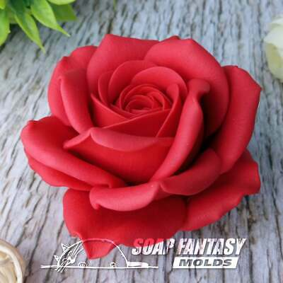 Rose silicone soap mold - for soap making(Maked from high quality silicone)
