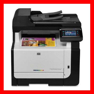 HP CM1415fnw Printer CE862A w/ NEW Toners / Drums - ONLY 5,600 Pages! - REFURB ! Black Laser Copier Drum