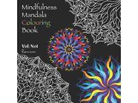 Mindfulness Mandala Colouring Books for Adults