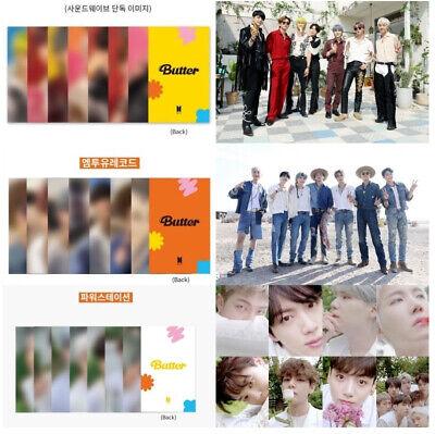 BTS Butter Lucky Draw Jungkook Soundwave Photocard PC