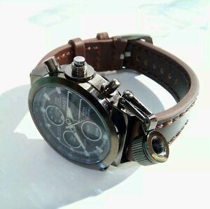 Military Sport LED Digital Analog Army Watch Herren Armbanduhr Uhr
