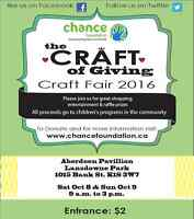 The Craft of Giving Craft Fair