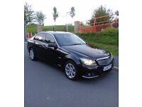 Mercedes c220 cdi Auto 2011 Facelift Black