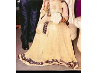 Bridal lengha maxi