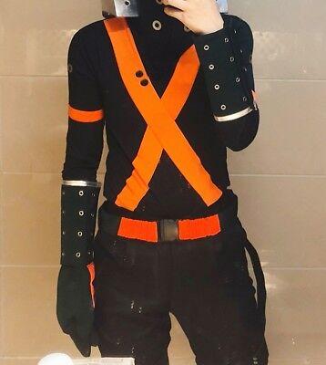 Handmade My Hero Academia Katsuki Bakugo Winter Hero Costume Cosplay Outfit Buy