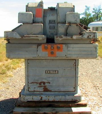 Big Vintage Detroit 2hp Ex-cell-o Dual Station Vertical Carbide Tool Grinder W