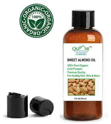 organic sweet almond oil soft skin