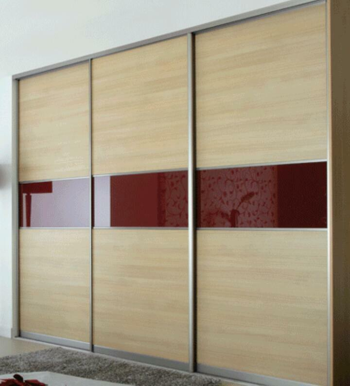 Oak effect wardrobe and sliding buy sale and trade ads for B q bedrooms sliding wardrobe doors