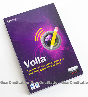 New Smithmicro Voila Screen Recording And Editing Tool For Mac Smith Micro