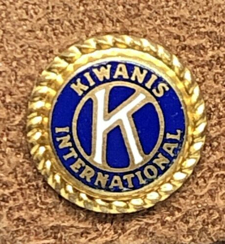 Vintage Kiwanis International Gold Tone Pin
