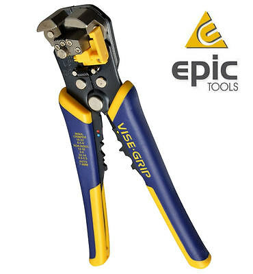 IRWIN Adjustable Automatic Wire/Cable Cutter/Stripper,Crimping/Crimper Plier