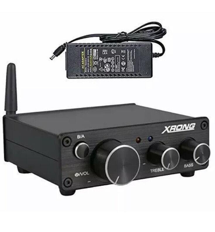 Bluetooth 5.0 Stereo Audio Amplifier Receiver 2 Channel Class D Mini Hi-Fi