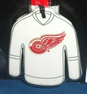 DETROIT RED WINGS Color Your Own Ceramic Jersey Ornament Christmas Tree NHL