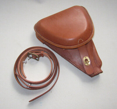 WWII wwii Japanese Officer Type Nambu 14 Pistol Holster With Strap-F-00001 for sale  Shipping to Canada