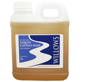 LIQUID CASTILE SOAP MULTIPURPOSE 100% NATURAL 1 L