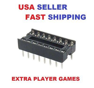 10 Pcs 16pin Dip Ic Sockets Usa Seller