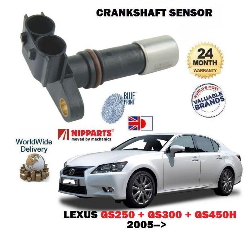 FOR LEXUS GS300 GS450H GS250 2005-->NEW CRANKSHAFT ANGLE CRANK SENSOR