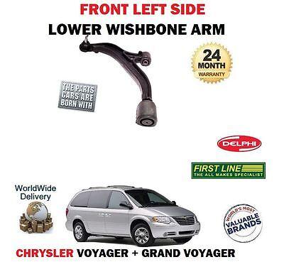 FOR CHRYSLER GRAND + VOYAGER 2000-2008 FRONT LEFT LH SUSPENSION WISHBONE ARM