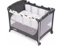 Joie Commuter travel cot with custom click BRAND NEW IN BOX