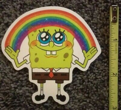 - Spongebob Squarepants Skateboard Sticker (#2)