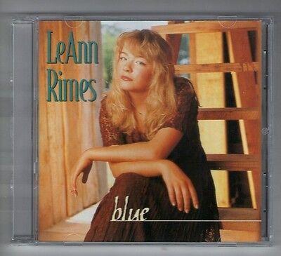 Leann Rimes Cd Like New Blue   11 Tracks